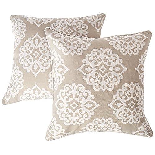 Taupe Throw Pillows Amazon Awesome Lush Decor Pillows