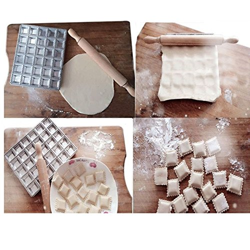 Ravioli Mold-ViewHuge Dumpling Mold Maker Kitchen Dough Press Ravioli Maker