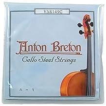 Anton Breton VNS-149C Standard Cello Strings - 1/2 Size