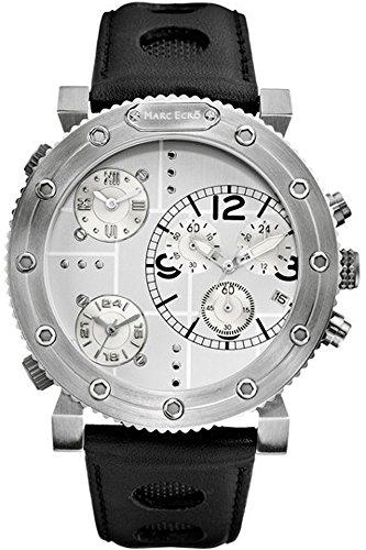 Marc Ecko Men's Leather Quartz Watch M20021G1