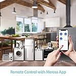 51V3y8vIlHL. SS150  - Meross Intelligente WLAN Steckdose Wi-Fi Steckdose, kompatibel Alexa, Google Home und SmartThings, mit App Fernsteuerung für iOS und Android, 16A-3680W, 2 Stück -
