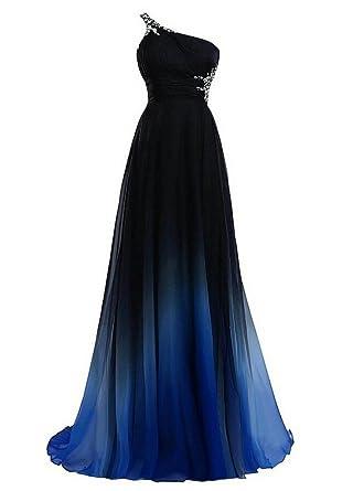 Amazon Hs Gradient Chiffon Convertible Bridesmaid Dress For