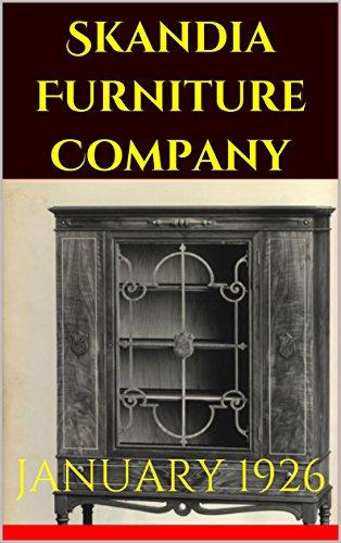 January 1926: Trade Catalog By [Skandia Furniture Company]