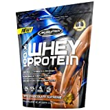 MuscleTech 100% Whey Protein Powder, Triple Chocolate Supreme, 5 Pound