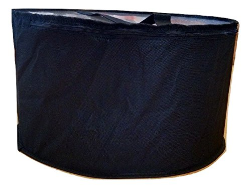 Collapsible Fabric Hat Box (Black Large)