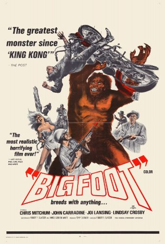 ArtFuzz Bigfoot 27 x 40 Movie Poster - Style A