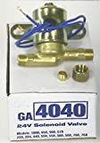 Heating, Cooling & Air 4040 Solenoid Valve for Aprilaire Humidifiers 24V 1/4''