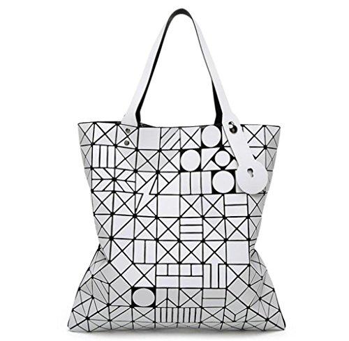 Wlfhm Sacchetto Opaco Bianco Stile Femminile Giapponese Del 10 Spalla OwFOrPfq