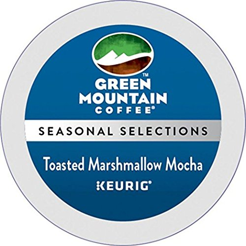 Green Mountain Toasted Marshmallow Mocha Seasonal Selections K-Cups For Keurig Brewers 24 Count - Flavored Marshmallows