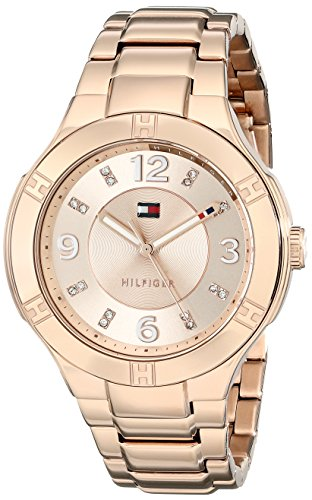 Tommy Hilfiger Women's 1781445 Analog Display Quartz Rose Gold Watch