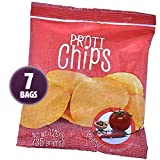 Proti-Thin – Barbeque Proti Chips – High Protein – Low Calorie – Low Fat – Healthy Snack Chips (7 Bags) For Sale