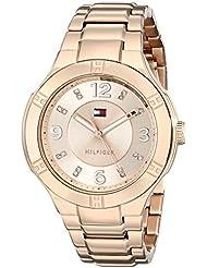 Tommy Hilfiger Womens 1781445 Analog Display Quartz Rose Gold Watch