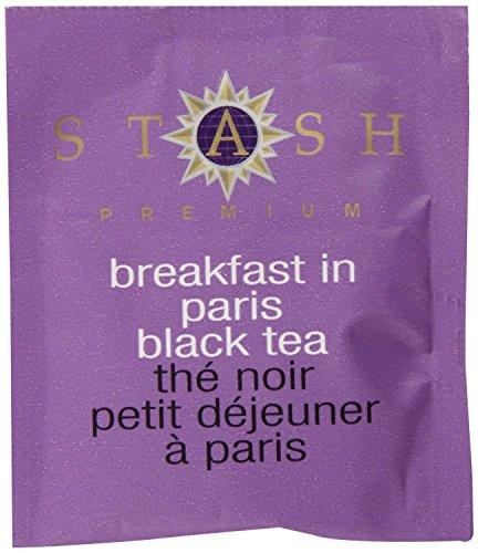 Stash Tea Breakfast In Paris Black Tea 10 Count Tea Bags in Foil (Pack of 12) (Packaging May Vary) Individual Black Tea Bags for Use in Teapots Mugs or Cups, Brew Hot Tea or Iced Tea by Stash Tea (Image #3)