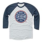 500 LEVEL Michael Taylor Baseball Tee - Unisex Adult - Washington Baseball Raglan Shirt - Michael Taylor Washington Ball