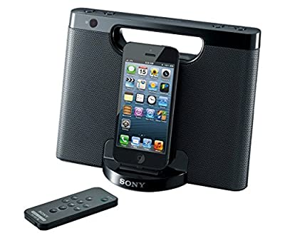 Sony RDP-M7IPN Lightning iPhone/iPod Portable Speaker Dock - Black