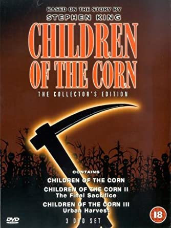 Children Of The Corn 1, 2 and 3 Collectors Edition Pack DVD ...