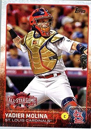 finest selection 2e0a3 4864e Amazon.com: 2015 Topps Update #US214 Yadier Molina Baseball ...