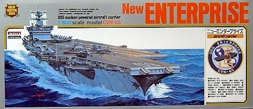 USS Enterprise CVN-65 New 1-800 Arii by Micro Ace
