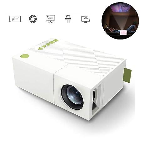 XRLTYY Proyector LED, Mini Proyector Doméstico, Soporte de ...