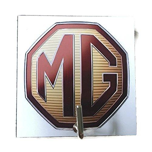 Agility Bathroom Wall Hanger Hat Bag Key Adhesive Wood Hook Vintage MG Car Logo's - Frames Alcohol Model