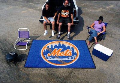 New York Mets Tailgater Mat (Fanmats Sports Team Logo New York Mets Ulti-Mat)