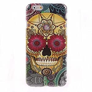 YXF Pattern Skull Design Hard Case for iPhone 6