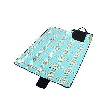 San Colchonetas de picnic azul Almohadilla a prueba de ...