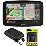 TomTom GO 520 GPS 5' Touch Screen (US-CAN-MEX) w/Protect and Stow Case and Dash Mount