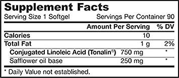Jarrow Formulas Conjugated Linoleic Acid CLA , Helps Maintain Lean Body Mass, 90 Softgels Pack of 2