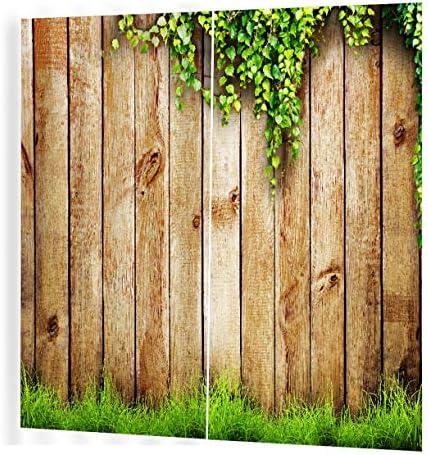 QinKingstore 木製のつるパターンカーテンディバイダーニースウィンドウカーテン170 * 200リビングルーム用ロマンチックなカーテン