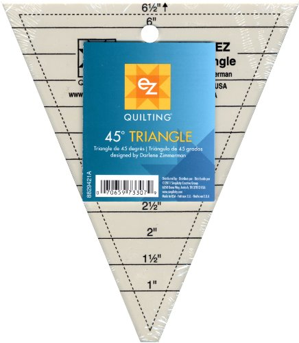 - Simpli-EZ 8829421 45-Degree Triangle Quilting Tool