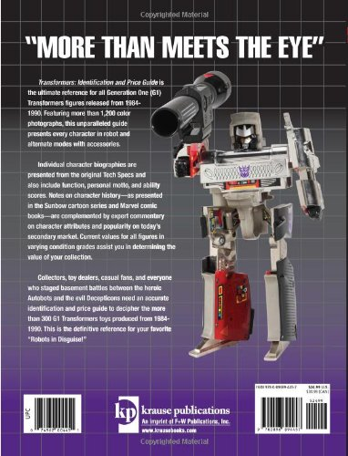 transformers identification and price guide mark bellomo rh amazon com warman's identification and price guide westclox an identification and price guide pdf