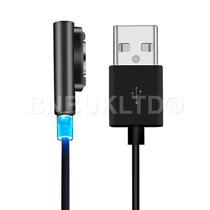 led de aluminio magnético BNBUKLTD Cable cargador USB para ...