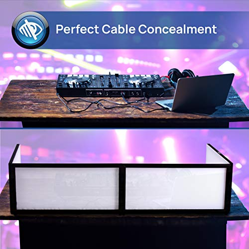 Remarkable Dj Booth Foldable Cover Screen Portable 5 6 Ft Tabletop Download Free Architecture Designs Rallybritishbridgeorg