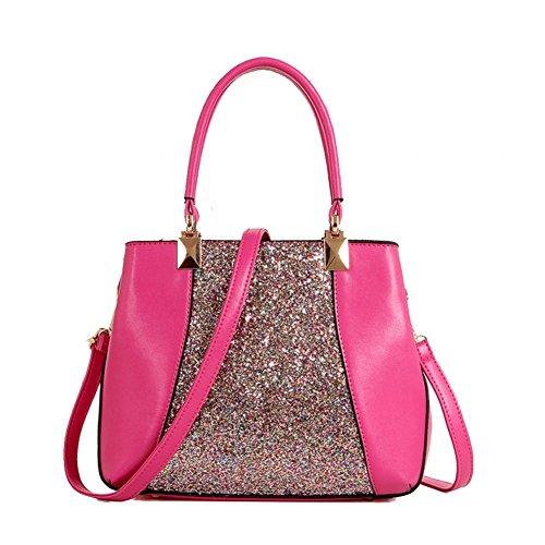 HNYEVE HB1200058C3 New Style PU Europe Women's Handbag,Vertical Section Square Kelly Bag