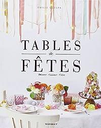 TABLES DE FETES