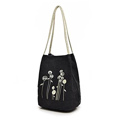 2d40f84cefb6 Amazon.com: ISEAREX Canvas Women Shoulder Bag Casual Female Handbags Large Daily  Totes Best Shopping Bag Mori Woman Styly Dayback: Shoes