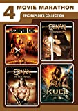 DVD : 4 Movie Marathon: Epic Exploits Collection (The Scorpion King / Kull the Conqueror / Conan the Barbarian / Conan the Destroyer)