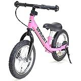 《プロテクタープレゼント》【組立済】【キックスタンド付き】 ブレーキ付ゴムタイヤ装備 ペダルなし自転車 キッズバイク SPARKY