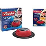 Vileda Virobi Robot Sweeper and One Package of Virobi 20 Pack Refill Pads Bundle