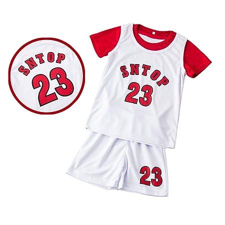 AIALTS Conjunto Jersey Baloncesto para Niños Niño Niña, Juventud 2 ...