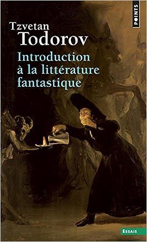 Livre Introduction à la littérature fantastique epub pdf