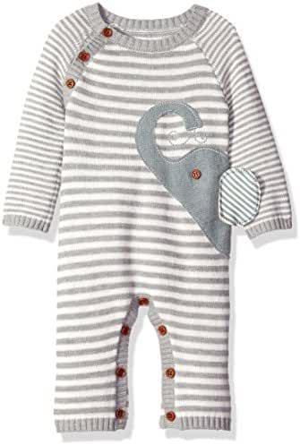 Mud Pie Baby Boy's One Piece Sweater Coverall