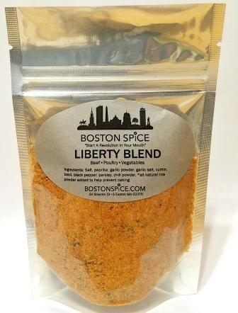Boston Spice Libertad mezcla de condimentos mezcla para las patatas fritas patatas fritas Hamburguesas Carne de