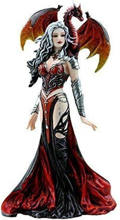 "Severeielle Dragon Witch Warrior Princess Figurine 12/"" Tall by Nene Thomas"