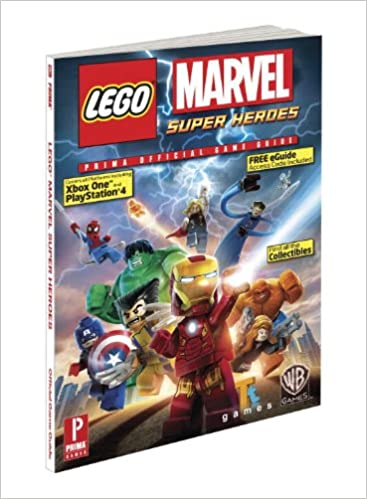 lego marvel guide book