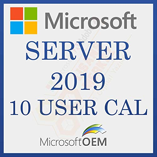Server 2019 10 CAL Remote Desktop User License | Retail Sale License | With Invoice | License Information, and…