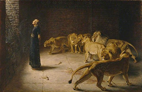 Daniel's Answer to the King by Briton Riviere - 18