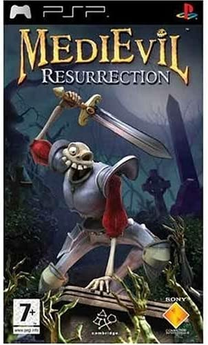 Medievil Resurrection Sony Psp Artist Not Provided Video Games