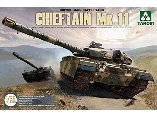 Takom British Chieftain Mk.II Model Kit (1/35 Scale) [並行輸入品] B018TMH6MK